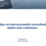 Consultants Tips