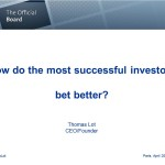 Smart Investors bet better